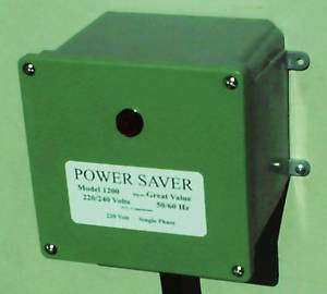 Electric Power Saver Power Save Electric KVAR 1200