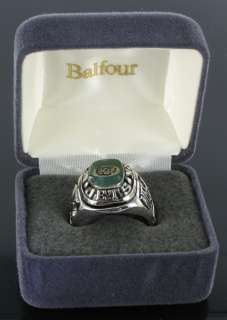 Football New York Jets Offical NFL Team Ring Sz 9