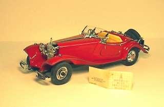 24 Franklin Mint 1936 Mercedes Benz Special Roadster   9677