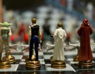 Star Wars Original Trilogy chess set. I bought this on release in