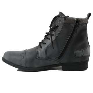 MEN MILITARY BOOTS ARMY COMBAT WORK ANKLE HIGH CUT MEN FASHION SHOES