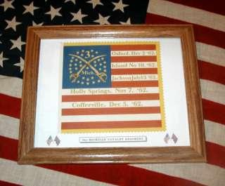 34 Star American Civil War Flag3rd Michigan Cavalry |