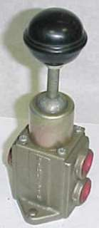 Parker 3 Way 2 Position Hand Operated Air Valve C537