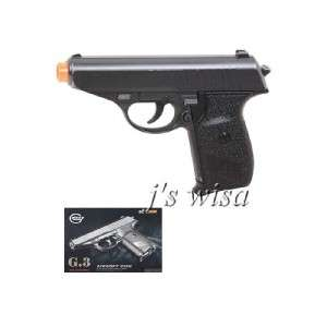 GALAXY G3 HEAVY METAL AIRSOFT PISTOL GUN 6 LONG PPK
