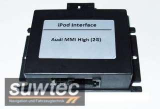 Audi AMI MMI 2G iPod iPhone Interface inkl. Steuerung