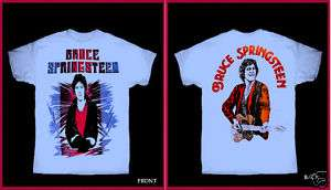 BRUCE SPRINGSTEEN 1980 US TOUR T SHIRT RETRO ROCK NJ