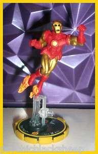 076 IRON MAN Marvel Xplosion Armor Wars HEROCLIX NM