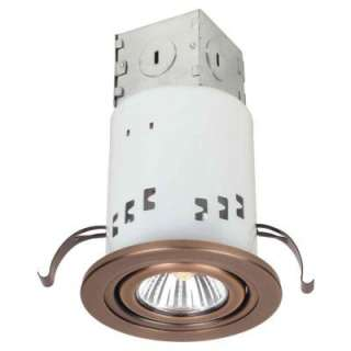 Commercial Electric 3 In. Non IC Remodel GU10 Recessed Lighting Kit