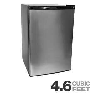 Haier HNSE05SS Refrigerator and Freezer   4.6 Cubic Feet, Adjustable