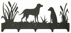 Lab Retriever Coat Rack   Hunting Dog Decor