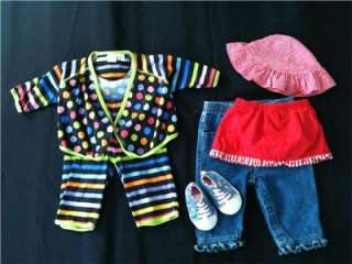 50 USED Girls CLOTHES 0 3 6 MONTHS Infant BABY Huge FALL LOT Pc Pieces