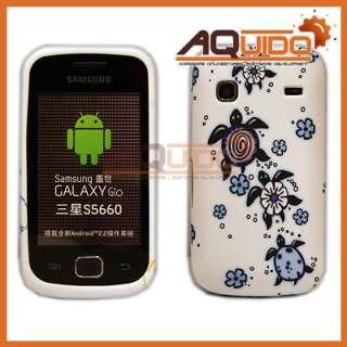Schutzhülle für Samsung Galaxy Gio S5660 Hülle + Folie