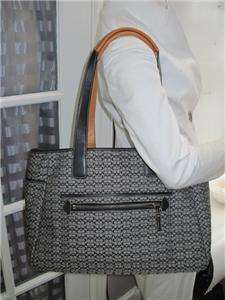 SIGNATURE DIAPER BRIEFCASE TOTE LAPTOP PURSE BAG W/CHANGING PAD