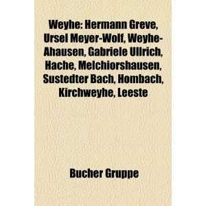 Gabriele Ullrich, Hache, Melchiorshausen, Sustedter Bach, Hombach, Kir