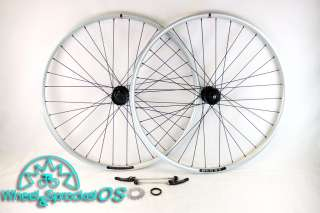 NEW PAIR BLUNT VELOCITY 29ER DISC BRAKE WHEELSET SILVER