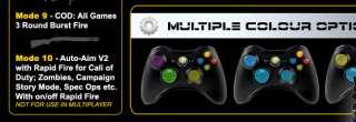 VIKING V2 10 Mode DROP SHOT Xbox 360 Rapid Fire Controller ,Modded
