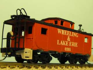 WHEELING & LAKE ERIE # 0205 caboose N Scale Custom Painted