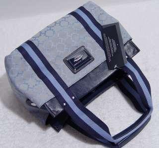 NEW Tommy HilfgerTH Blue Small Tote Bag Purse Handbag