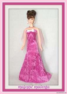 barbie and friends dolls majestic magenta custom 4 piece ensemble