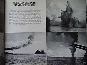 WW2 USS MOBILE CL 63 CRUISE BOOK UNIT HISTORY RARE