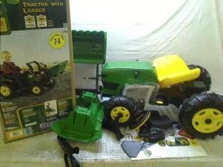 Peg Perego John Deere Farm Tractor & Trailer $139.99