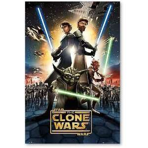 Empire 105448 Poster, Star Wars Clone Wars 61 x 91.5 cm