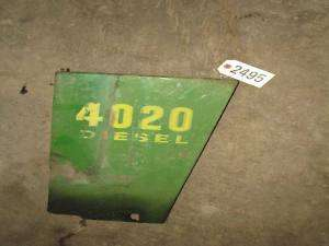 John Deere 4020 Diesel Side Shield ID 2495*