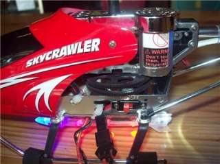 Crawler XC9970 Remote Control 3.5 EX RC Helicopter for Parts/ Repairs