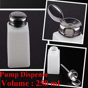 2pc Pump Dispenser Bottle Nail Art Makeup Tool J0212 3