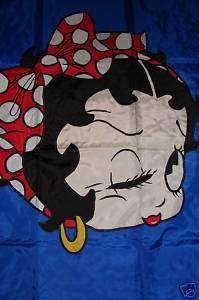 BETTY BOOP HOUSE FLAG LARGE LOTS TO CHOOSE FROM LQQK