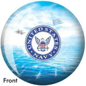 United States Navy Bowling Ball