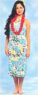 Costumes Gidget Hawaiian Luau Halter Dress Costume M