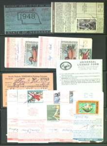 Hunting & Fishing Stamp and License Collection |