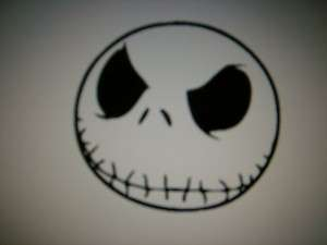 JACK SKELLINGTON decal sticker laptop wall art