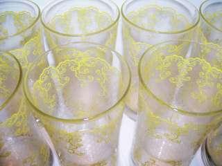 & White Lace Pattern Tumblers Drinking Glasses Swanky Swigs