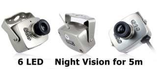 Wireless Mini CCTV hidden Color Pinhole Camera SPY Cam