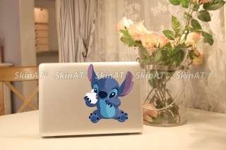 Stitch Macbook Pro Air Vinyl Sticker humor Decal Skin N