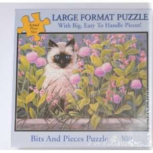 Bits and Pieces Puzzle Linda Elliot Blue Eyes: Toys
