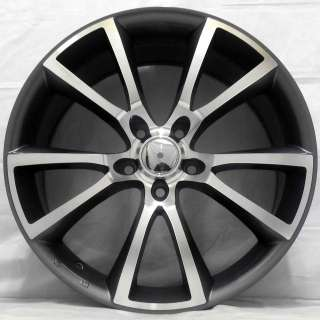 18 VAUXHALL ZAFIRA 05 1.6 2.2L VXR GUNMETAL POLISHED ALLOY WHEELS