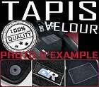 TAPIS SOL EN VELOURS NOIRE COULEUR VW GOLF IV 4 BORA NEW BEETLE + R