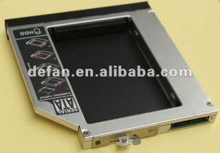 SATA 2ND Hard Disk Drive HDD caddy/adapter for any other HP elitebook