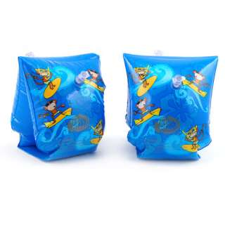 blue child inflatable swimming aid float armbands 0 3y