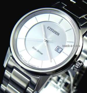 CITIZEN ECO DRIVE LADY WATCH SAPPHIRE STAINLESS STEEL EW1560 57A WR US
