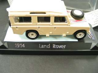 LAND ROVER 1/43 DEFENDER D 109 Dealer Promo Toy CAMEL TROPHY