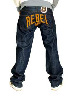 REBEL APE BLOCK LETTER G JEANS ROCA BLUE STAr HIP HOP