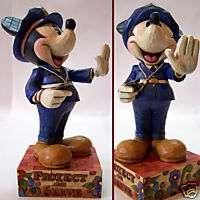 figurine walt disney mickey policier