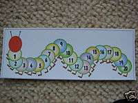 Teaching Resources   Caterpillar Number   Line to 20
