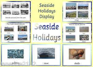 HOLIDAYS DISPLAY   Heading, posters vocab etc Teaching Resources