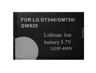 NEW HIGH CAPACITY BATTERY FOR LG OPTIMUS GT 540 UK ?