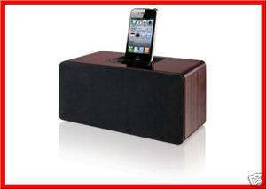 iLive 2.1 Channel Powered SPEAKER System Subwoofer Dock iPhone iPod